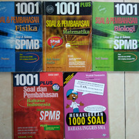 1001 soal dan pembahasan spmb dan SBMPTN ganesha operation