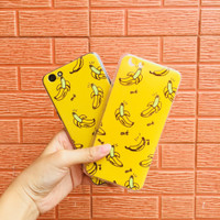 Banana Case For Iphone,Samsung,Oppo f3,f3+,a37,a57,a57,Xiaomi 4x