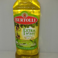 Bertolli extra light 1 liter tasting olive oil minyak zaitun delicate