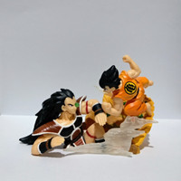 Dragon Ball DBZ Figure HG Imagination Goku VS Raditz Original BANDAI