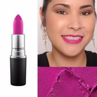 MAC Lipstick - Flat Out Fabulous ( Plum )