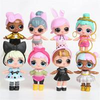 Figure Set LOL 1 set isi 8 pcs / Mainan Anak LOL / Kado Mainan Anak