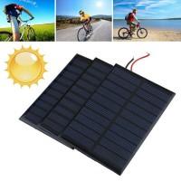 Jual modul solar cell panel surya 5V 160mA DIY power bank solar panel sell Murah