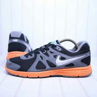 Sepatu Lari / Running Nike Revolution 2 MSL Grey Orange