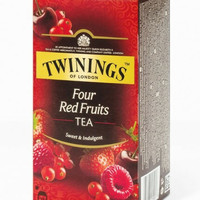 Twinings four red fruits tea sweet & indulgent 25pcs teh