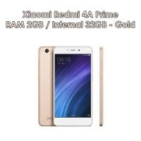 Hp Xiaomi Redmi 4A Prime Ram 2/32GB - Xiaomi Garansi TAM 4G LTE - GOLD