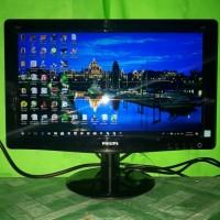 LED Monitor Komputer Philips 16inch wide 166V3L