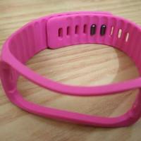 wrist strap samsung galaxy gear fit 1 merah muda