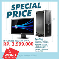 Komputer HP Compaq 8200 Elite SFF