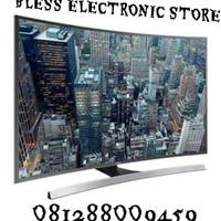 SAMSUNG LED 55JU6600 SMART TV 4K UHD CURVED PROMO BERGARANSI
