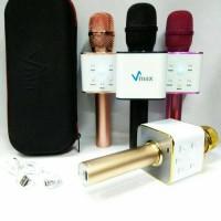 Mic smule bluetooth (V-Max) speaker microphone music audio FA