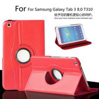 Cover Book / Case Rotary Samsung Tab 3 Ukuran 8 inch T3100/T3110