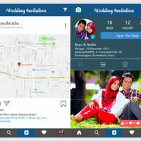 Undangan Pernikahan Softcover Unik Model Instagram
