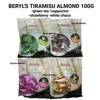 BERYL'S TIRAMISU ALMOND 100G BERYLS