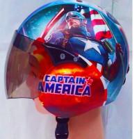 Helm Retro Anak Motif Umur 2-6 Tahun -