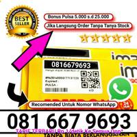 indosat 10 digit im3 nomor cantik 4g nomer prabayar non paket internet