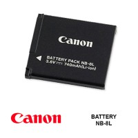 BATTERY CANON NB-8L 3.6V 740mAh
