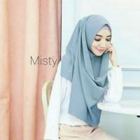 Jilbab Pashmina Instan (Hijab Bubble Instant Aisa) murah warna pastel