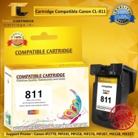 Cartridge Canon CL811 CL 811 CL-811 Printer IP2770 MP237 MP245 MP258