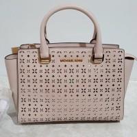 Tas wanita Hand Bag Michael Kors MK Selma Perforated