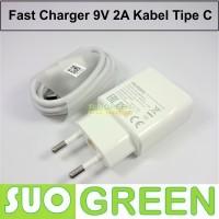 [ORIGINAL] Fast Charger Huawei Original + Kabel Tipe C P10 P9 Honor 8