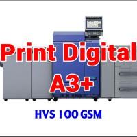Print Digital A3  32.5 x 48.5 cm - HVS 100 GSM