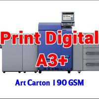 Print Digital A3  32.5 x 48.5 cm - Art Carton 190 GSM