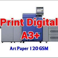 Print Digital A3  32.5 x 48.5 cm - Art Paper 120 GSM