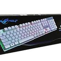 WarWolf Gaming Keyboard K-1 - Ice Saber Wolf