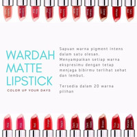 Harga Wardah Matte Lipstick Travelbon.com