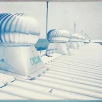 """Cyclone ventilator turbine 42"""" Japan Aluminium"""