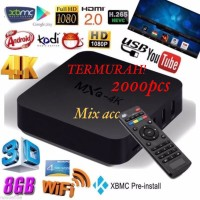 TV Box Android Smart MXQ 4K RK3229 1G/8G H.264/H.265