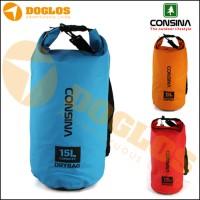 Tas Dry Bag Consina 15L |waterproof/anti air/WP/drybag/outdoor/15 L