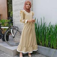 Trend Baju Muslim Wanita-Dress Anoplas Maxi-Modis-Bermerk