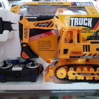 Mainan Mobil Remote Control Excavator / RC Traktor / RC Beko