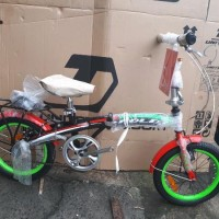 Sepeda Lipat anak dan Dewasa Genio 16