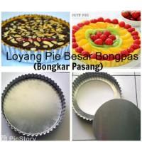 Loyang/ Cetakan Pie Buah Susu Lontar Pizza D24cm BONGPAS murah