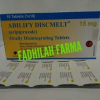 ABILIFY DISCMELT 15 mg (aripiprazole) Isi 10 Tablet/ Blister