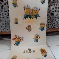 Jual Wallpaper Sticker Dinding Kartun Minion 10m X 45cm Limited Jakarta Selatan Brand Shop13 Tokopedia