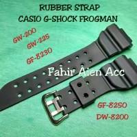 Strap Tali Jam Tangan CASIO G-SHOCK FROGMAN DW-8200/Rub Berkualitas