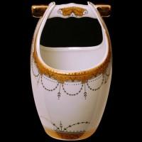 Vicenza Tempat Sendok Keramik Motif Padi (B-625) Limited