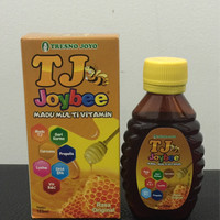 Harga madu tj joybee 100 ml rasa original madu | Pembandingharga.com