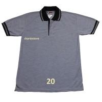 Chardo Store Polo Shirt Polos Abu-Abu 20 Warna S, M, L, XL, XXL