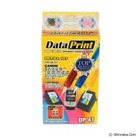 Refill Kit Tinta Suntik Data Print 3 Warna DP41 DP 41 - Printer Canon