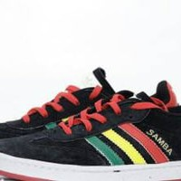 Sepatu Adidas Samba Rasta Series