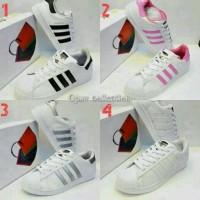 Sepatu Adidas Super Star Foundation Man Women Bisa Pria Wanita Cewek