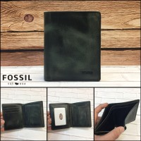 dompet FOSSIL 485 cloudy smoked vintage KW SUPER dompet kulit cowok