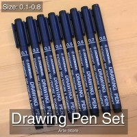 Drawing Pen Set (8 pcs)