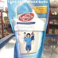 Lifebuoy Cool Fresh Refill 450 ml | Sabun Mandi Cair Lifebouy 450ml