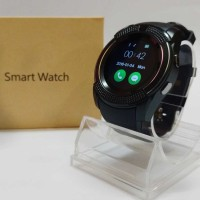 Smart Watch Smartwatch Jam Tangan Bulat HP bisa tlp sms kamera MicroSD